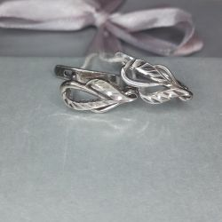 Earrings are made of 925 silver. Weight 2.03