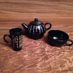 Gift set for a tea or coffee ceremony