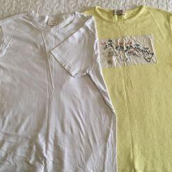2 pcs. T-shirts 140r. Zara for a boy 2 pcs.