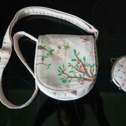 Kızlar için çanta ve cüzdan Yaz Bahçesi GJECO