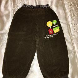 Çocuklar için pantolon