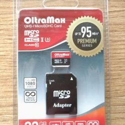 Olta MAX 32 Gb new memory card in factory package
