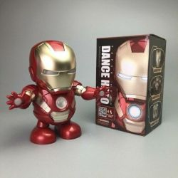 The new iron man is dancing