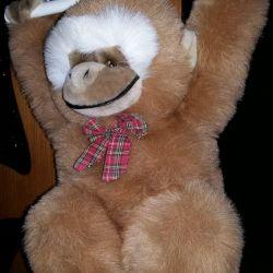 musical monkey stuffed toy