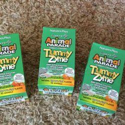 Φύσεις βιταμίνες στο μωρό Animal Parade tummy zyme