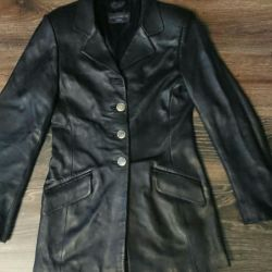 Women's leather jacket S-M. New rr. 42-44