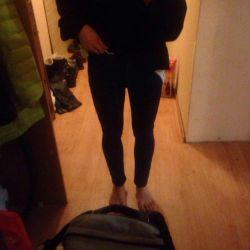 Зимние, утеплeнные джинсы