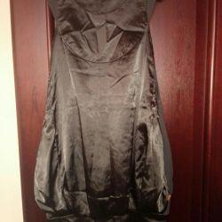 Стильное платье кокон дизайнерское