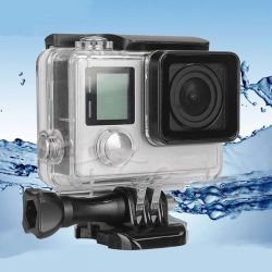 Shock and waterproof boxes for GoPro Xiaomi SjCam
