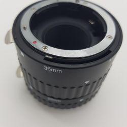 Otomatik netleme ile Makro Nikon halkası