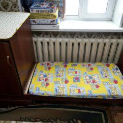 Baby bed + wardrobe