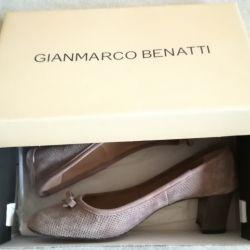 Туфли Gianmarco Benatti, р-38