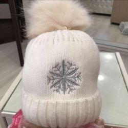 Yeni sıcak kış şapka
