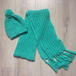 Set hat scarf