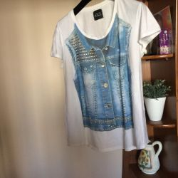T-shirt Italy cotton