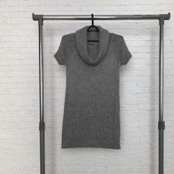 Πλεκτό φόρεμα πουκάμισο Incity
