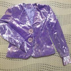(Jacheta + Fusta) Costum de catifea