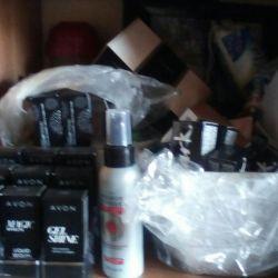 Yeni parfümeri ve kozmetik ürünleri ___ 'dan Avon