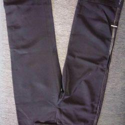 Shortened pants