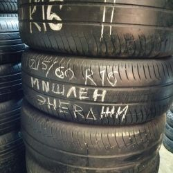 Set of tires 215 60 on 16 Michelin