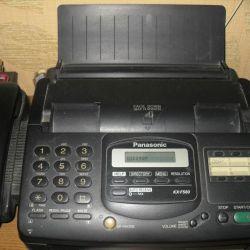 Fax phone
