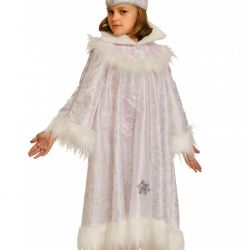 Children's carnival costume Snow Queen