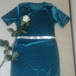 puțin rochie de smarald