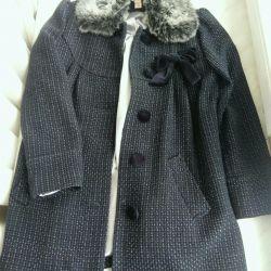 Kızlar için palto Muson