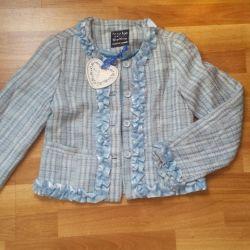Tweed σακάκι για τα κορίτσια να είναι πάρα πολύ