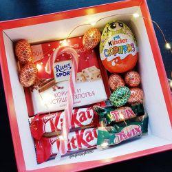 gift set kinder surprise chocolate lollipop
