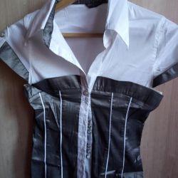 Cămașă pentru femei cu mâneci scurte