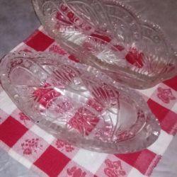 Kristal farklıdır, gözlük vazoları vb.