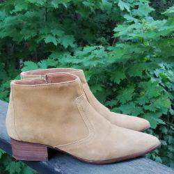 Ботинки казаки натуральная кожа