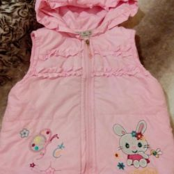 Vest for the girl. 2.5-3.5 years