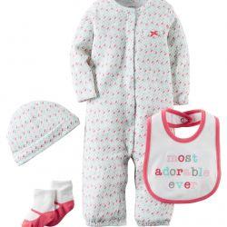 Carter's body kit sleep + hat + socks