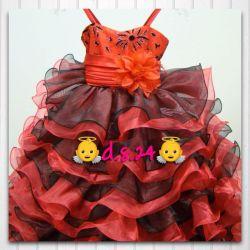 Платье нарядное с кринолином