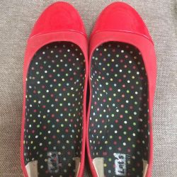 Ballet Shoes Red 39-40 r