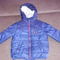 Soğuk sonbahar-ilkbahar için ceket.
