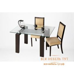 Tokyo masası (siyah gümüş / şeffaf cam)