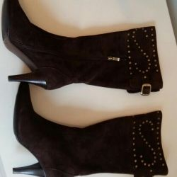 Suede boots new