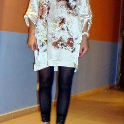 Kullanılan Zara bluz tunik boyutu M ipek