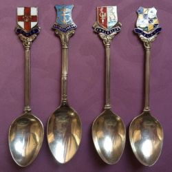 Silver spoons. England