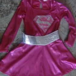 costume Barbie dress super hero