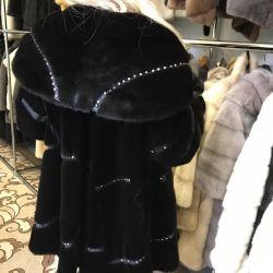 Beautiful mink coat 48/52 size