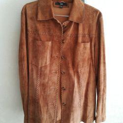 Μπουφάν, σουέτ πουκάμισο, μέγεθος 46