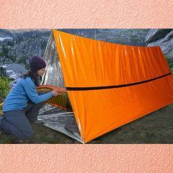 2 шт. Аварийный спальный мешок-палатка тент труба