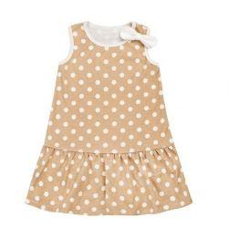 Dress children's Polka-dot series.