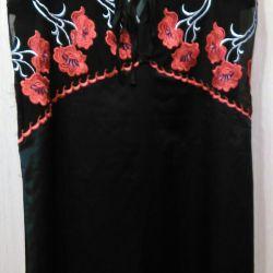 Сорочка шелковая
