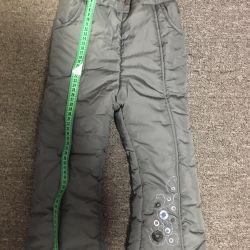 Vanzarea de pantaloni de iarna
