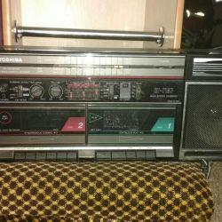 TOSHIBA Dual Cassette Player